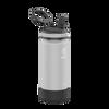 Takeya 16 oz Actives Kids Water Bottle w/ Straw Lid - Platinum/ Onyx
