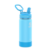 Takeya 16 oz Actives Kids Water Bottle w/ Straw Lid - Sail Blue/ Atlantic