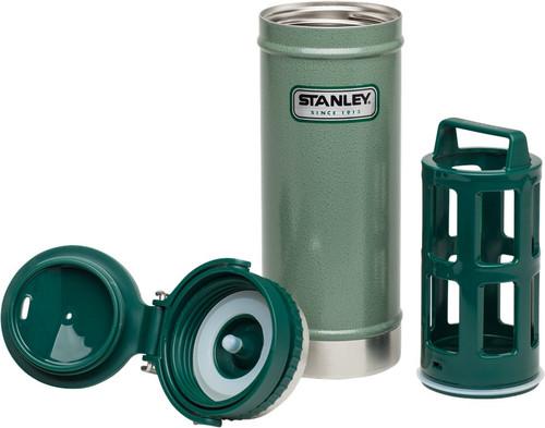 Stanley Classic Vacuum Travel Press 16oz Hammertone Green