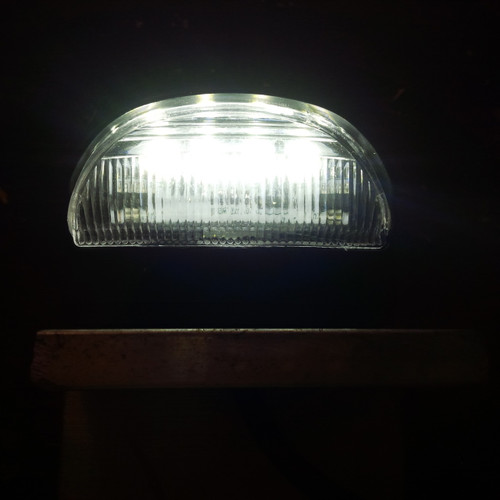 LED Number plate light