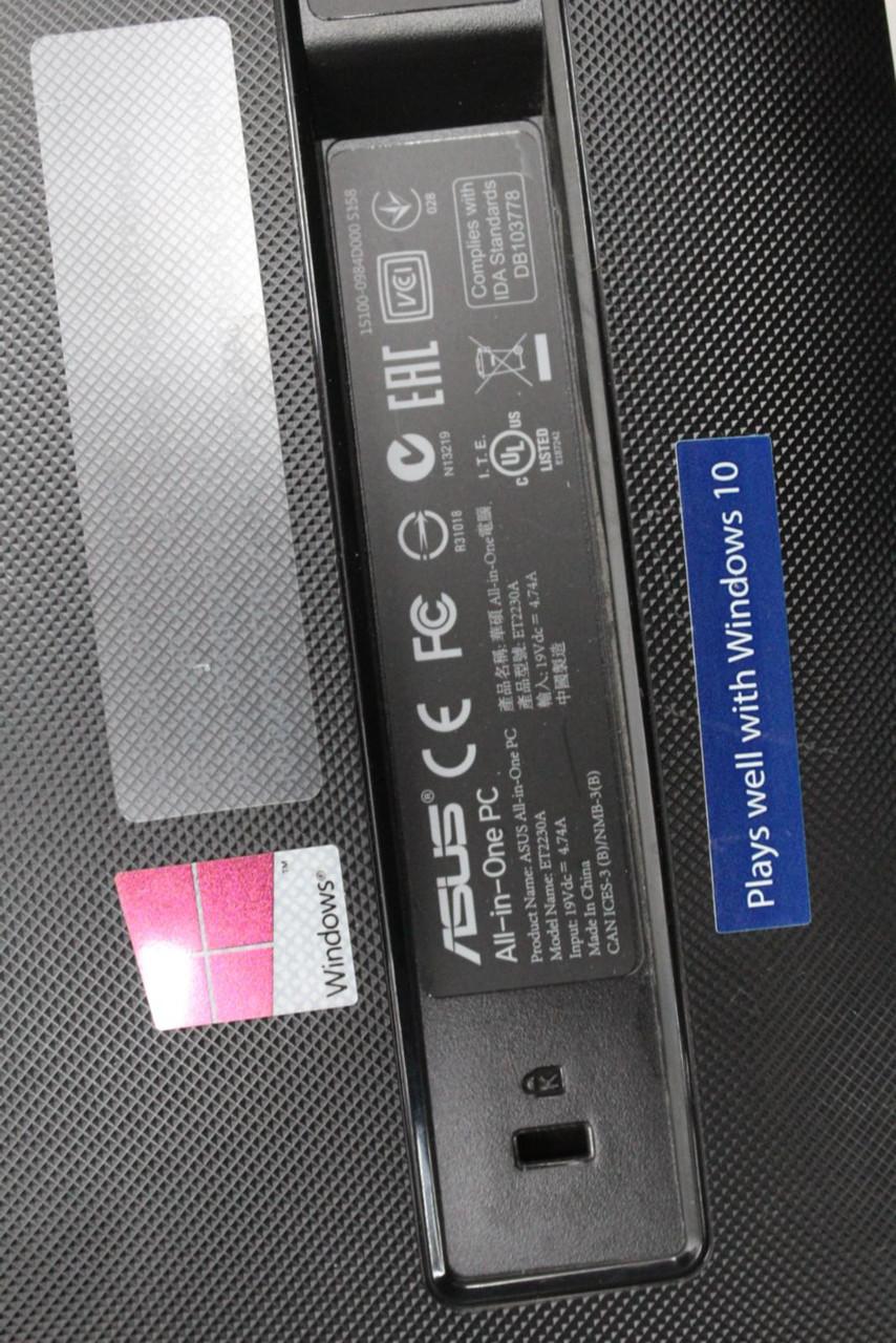 "ASUS ET2230A 21.5"" Full HD AMD A6-6310 6GB RAM 1TB HDD All-In-One Desktop PC"