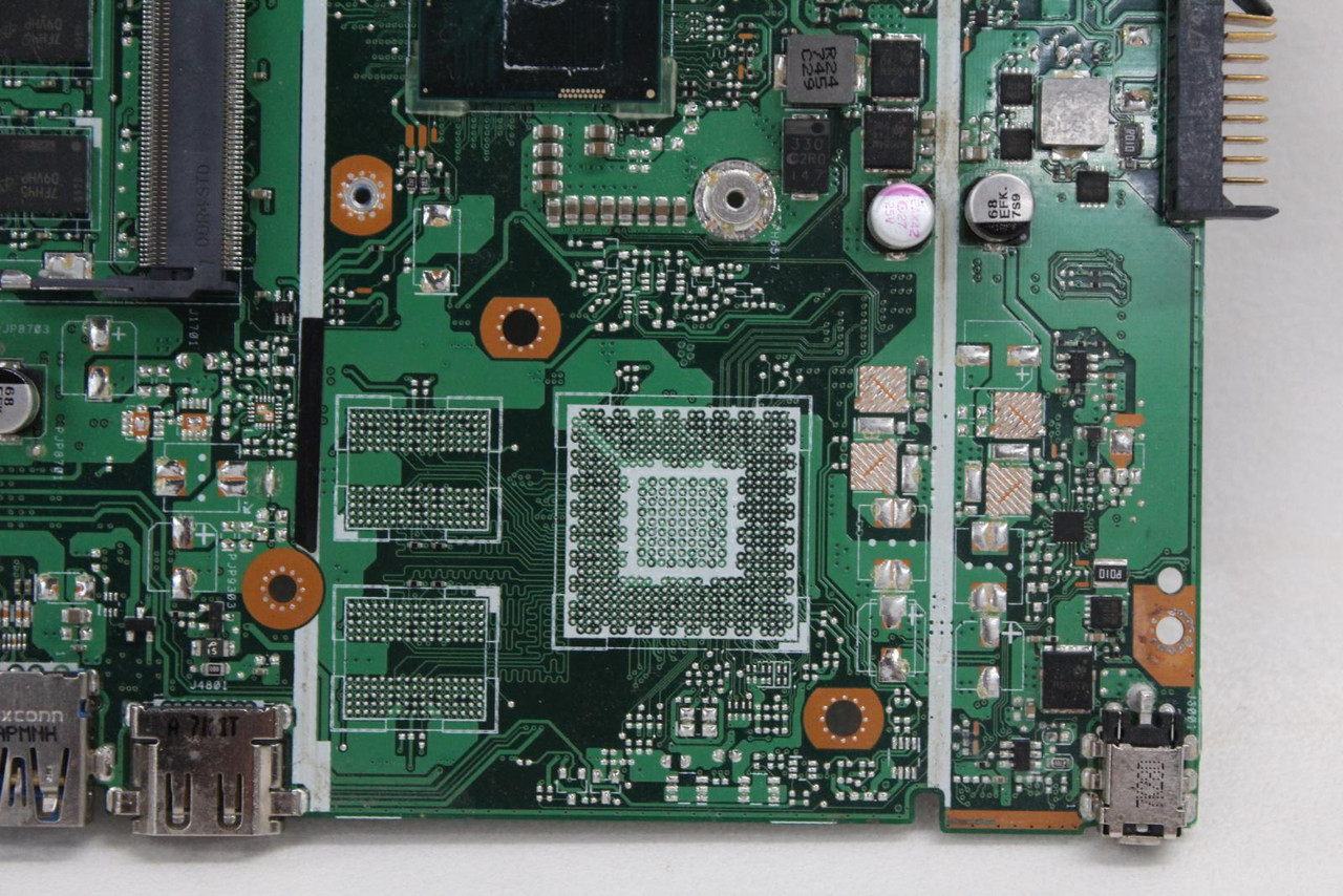 Asus VivoBook X540U Laptop Motherboard REV 2.0 PCB 60NB0HF0-MB 1600 Replacement