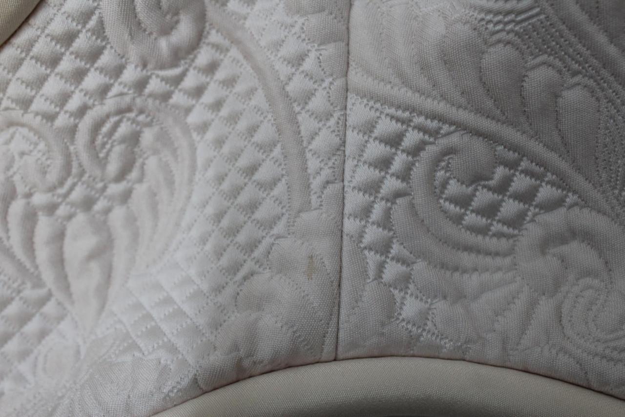 3.1 PHILLIP LIM Ladies White Pale Pink Sleeveless Brocade Silk Top US2 UK6 NEW