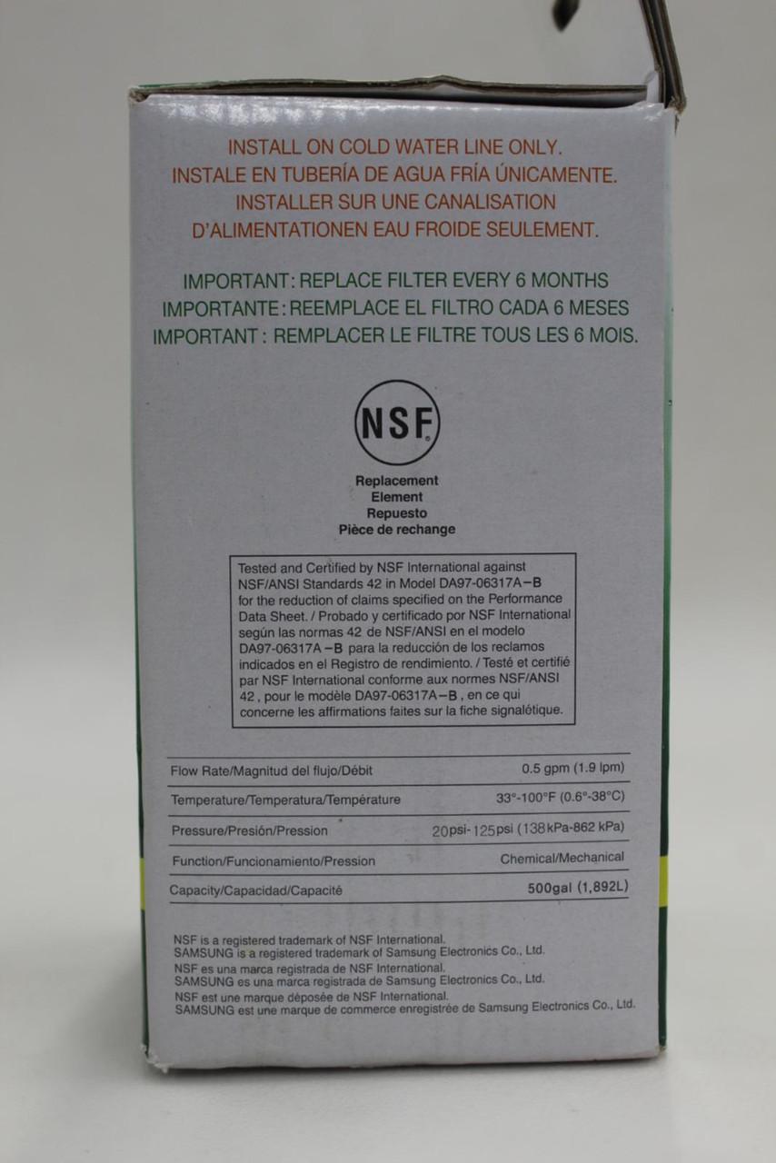 SAMSUNG DA29-00003F Aqua-Pure Plus Filter Refrigerator HAFIN1/EXP NEW