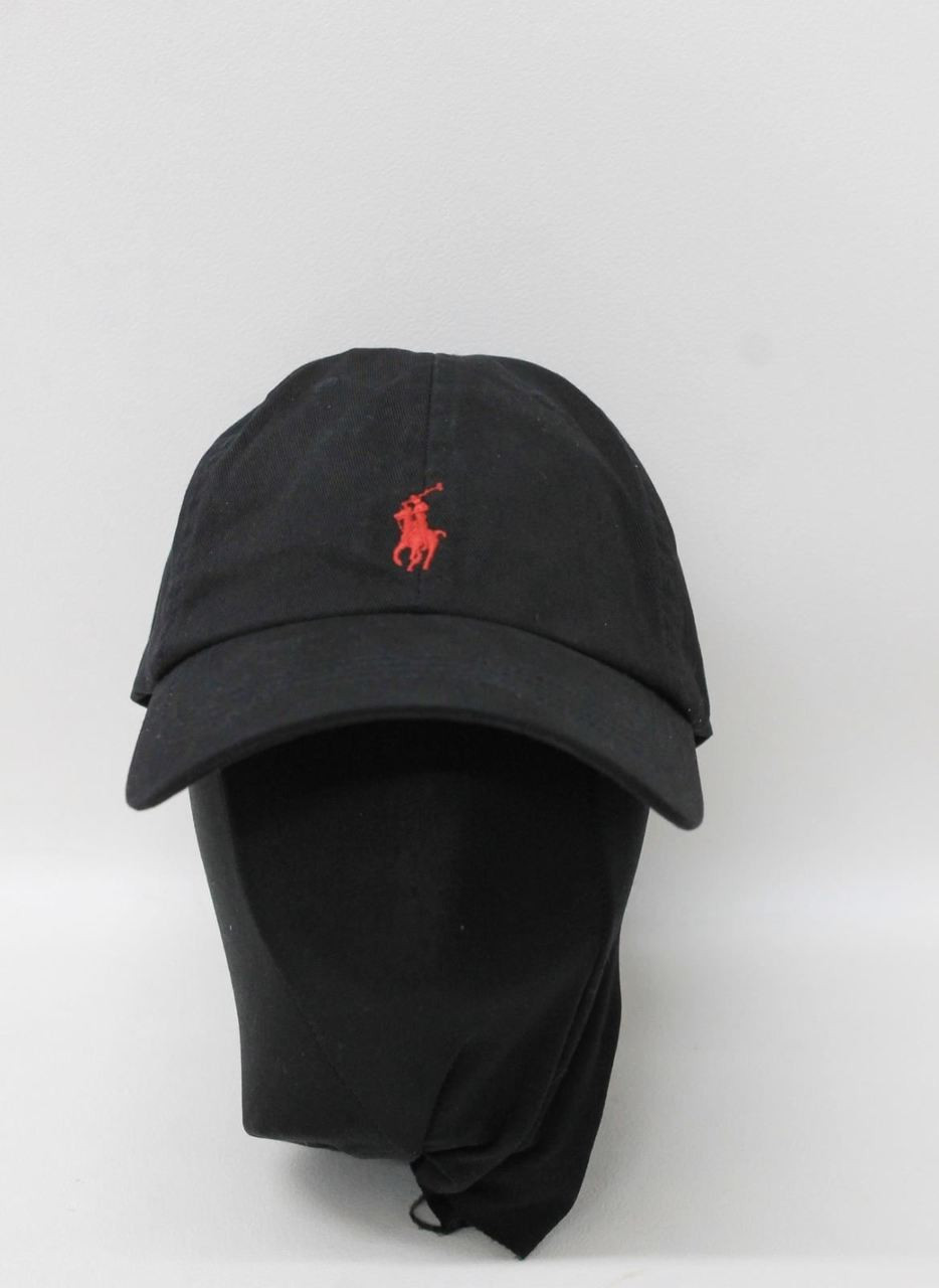 BNWT POLO RALPH LAUREN Men s Black Cotton Adjustable Strap Hat One Size -  Stuff U Sell 18e4aa3cb90