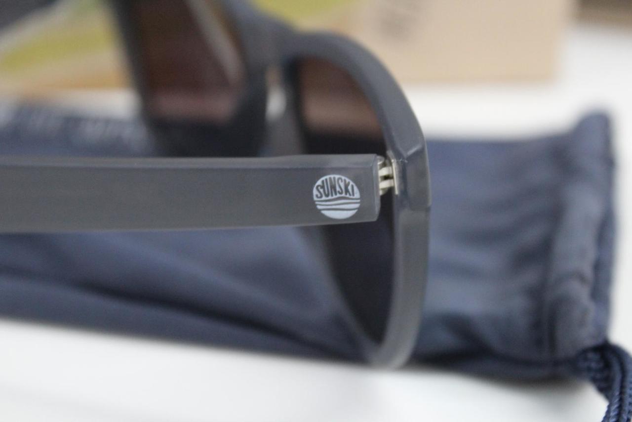 4b1067beb6a NEW SUNSKI Headlands Sunglasses One Size Lime Polarized Mens Matte Slate
