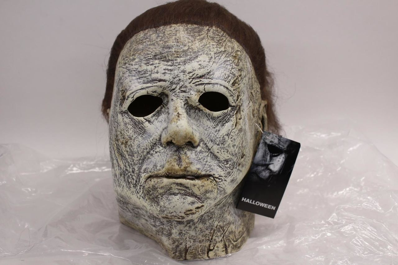 Halloween 2018 Michael Myers Mask.New Trick Or Treat Studios Halloween 2018 Michael Myers Latex Deluxe Mask