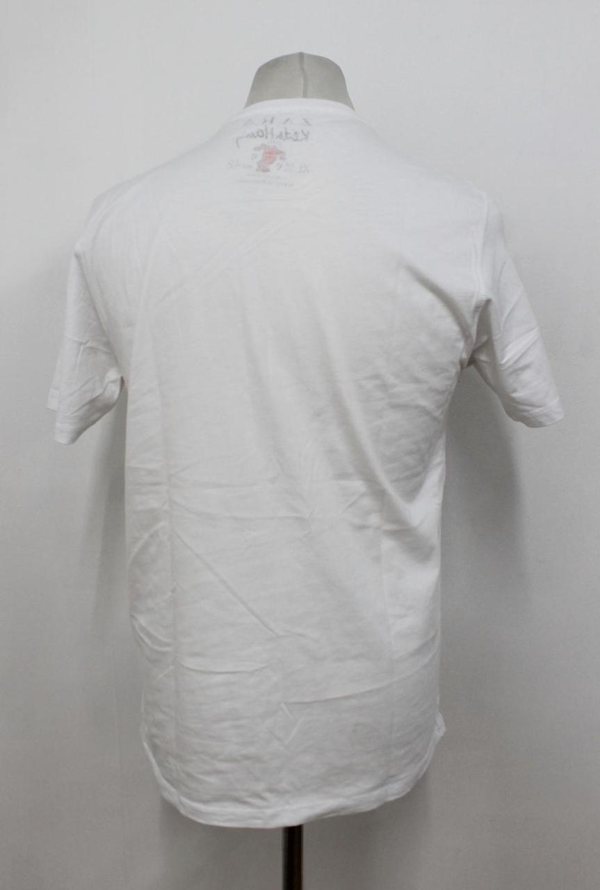 9f5f5f77 ZARA KEITH HARING Men's White Short Sleeved Printed Art T-Shirt Size ...