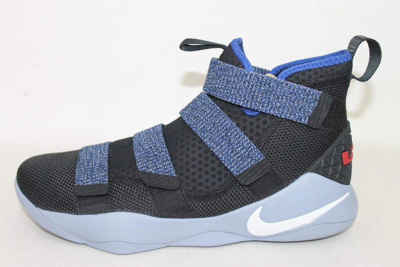 separation shoes 4ed14 34e84 NEW NIKE Men's Zoom Lebron Soldier XI Basketball Shoes Boots Size UK9.5  EU44.5