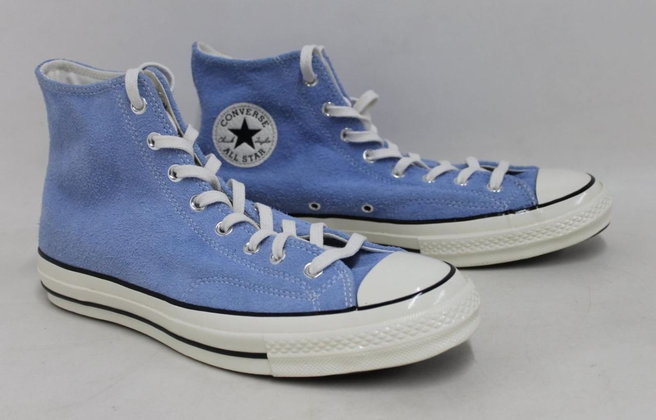 ee551f46c680 CONVERSE All Star Chuck Taylor Men s Blue Suede Hi-Top Trainer Shoes UK11  EU45 - Stuff U Sell