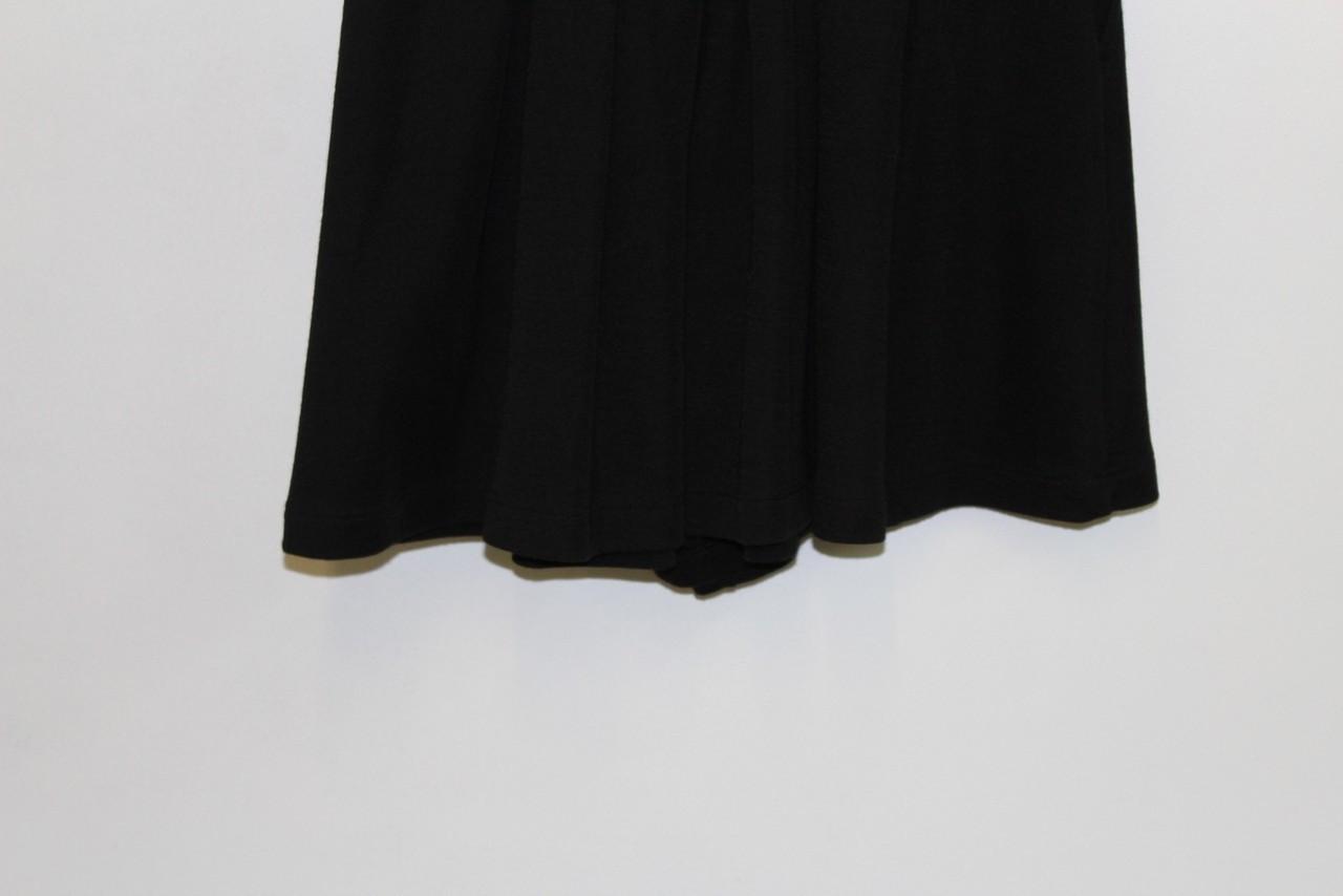 BNWT MAISON MARTIN MARGIELA Ladies Black High Rise Extra Wide Leg Shorts XS W26