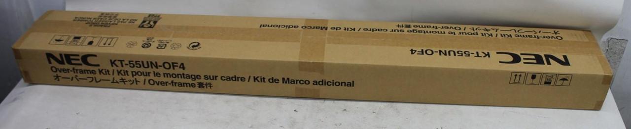 NEC KT-55UN-OF4 Black Over Frame Kit For MultiSync UN551S & UN551VS Display BNIB