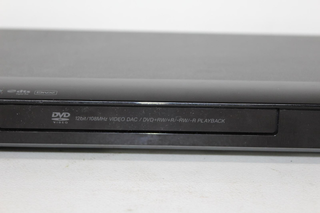SONY Model DVP-NS318 Black 12bit/108MHz Video SCART Interface DAC DVD Player
