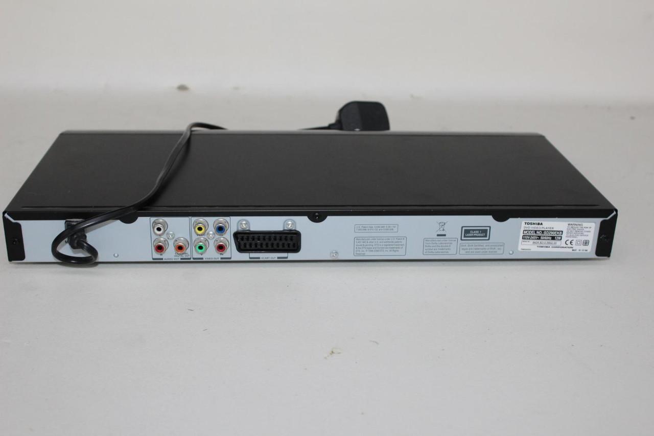 FAULTY TOSHIBA SD290EKB Hi-Resolution Progressive SCART Slim Line DVD Player