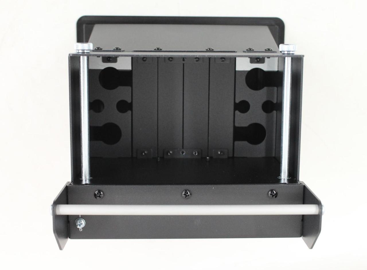 CRESTRON Black Anodized Flip-Top Cable Socket Manager Basic Unit FT-600-B NEW