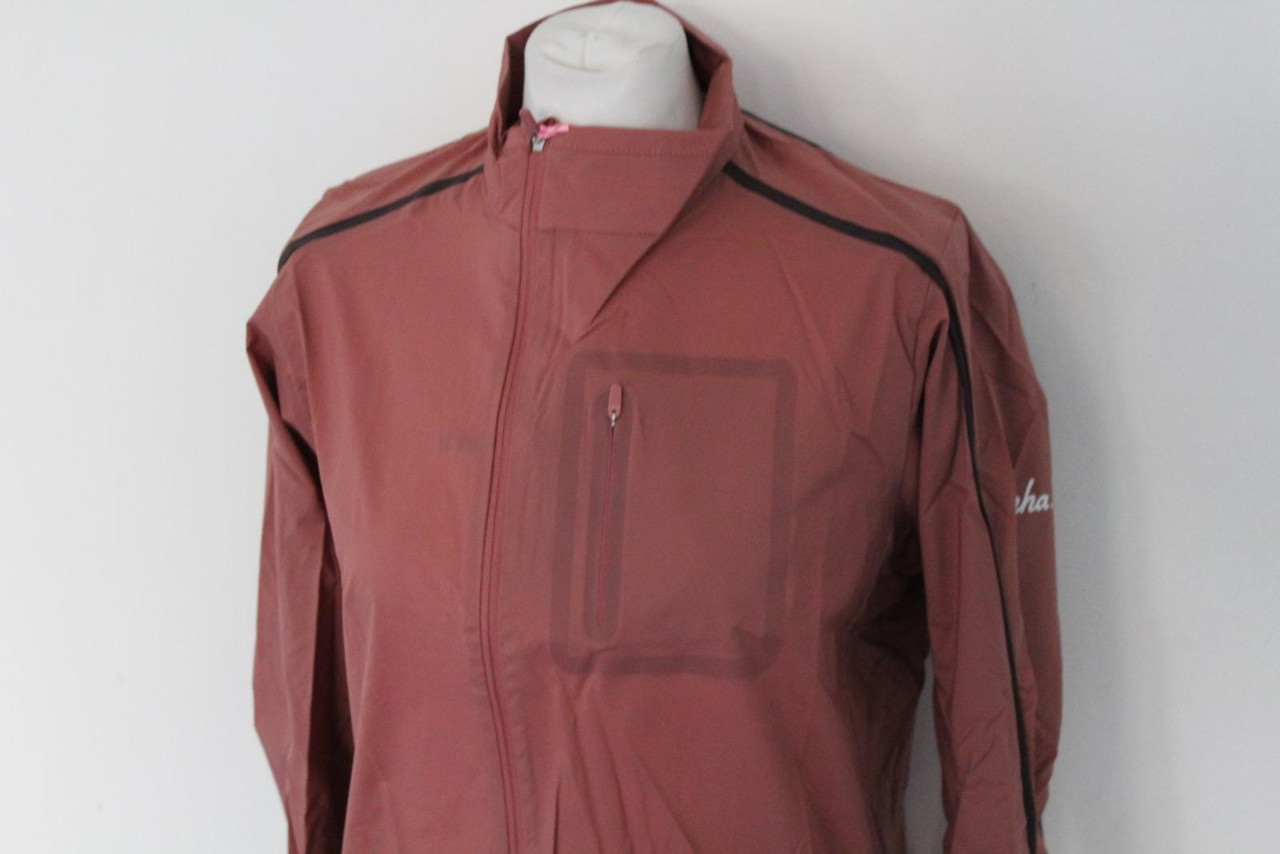 RAPHA Mens Classic Jersey Short Sleeve Cycling Top Pink Zip Through Medium BNWT