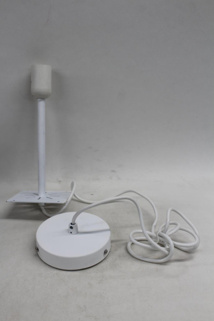 LEE BROOM Single White Colour Ceiling Light Fitting Model YF27-2F12 Part BNIB