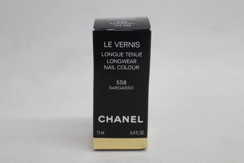 CHANEL Ladies Le Vernis Longwear Nail Colour 558 Sargasso Boxed 13ml NEW