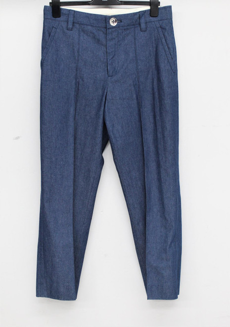 MARC JACOBS Ladies Denim Cotton Blend Straight Leg Tailored Fit Jeans UK8 NEW