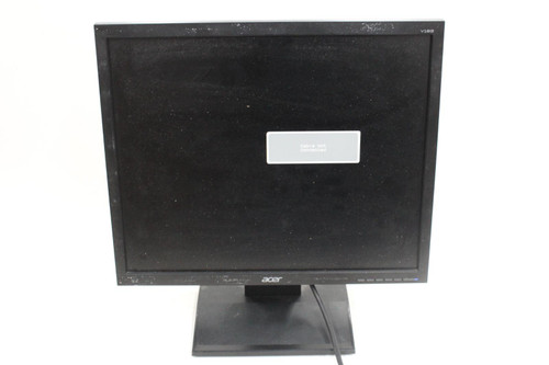 """ACER Black V193DObmd ET.CV3RE.D39 V193 Series 19"""" LCD TFT 1280x1024 Monitor"""