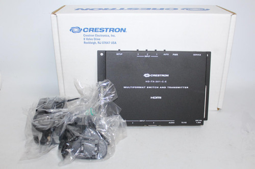 CRESTRON DM Lite HD-TX-301-C-E Multiformat Switch And Receiver 6510376 NEW