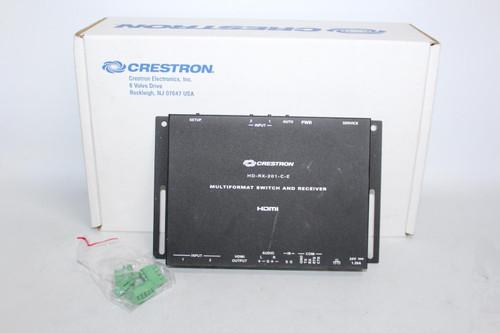 CRESTRON DM Lite HDMI HD-RX-201-C-E Multiformat Switch And Receiver 6508330