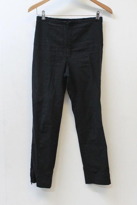 ISABEL MARANT Ladies Black Skinny Stretch Gabardine Trousers Approx.W28 L26