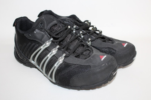 ADIDAS Ladies Black Lace Up Running 2011 Climacool Hellbender Trainers Size UK5
