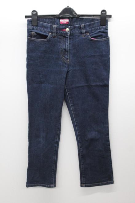 PAUL SMITH Ladies Blue Cotton Blend Slim Fit Cropped Denim Jeans  W28 L23