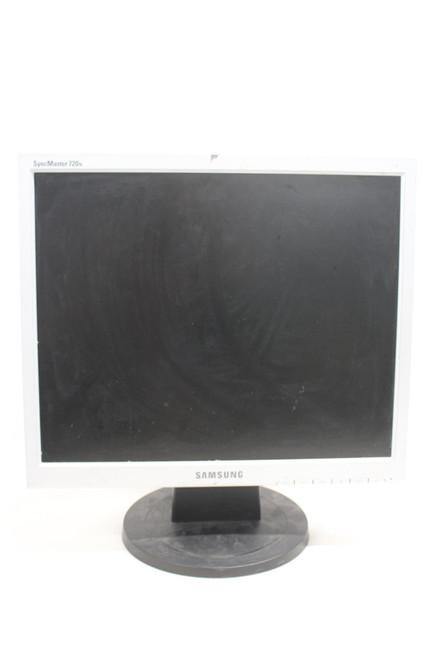 "SAMSUNG 720N Syncmaster 17"" Desktop LCD Monitor Screen w/ Stand LS17MJVKS/EDC"