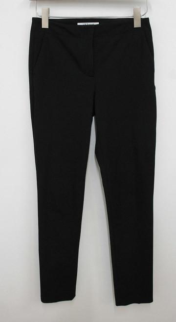L.K.BENNETT Ladies Black Isabeau Straight Leg Cigarette Trousers UK8 W28 L32