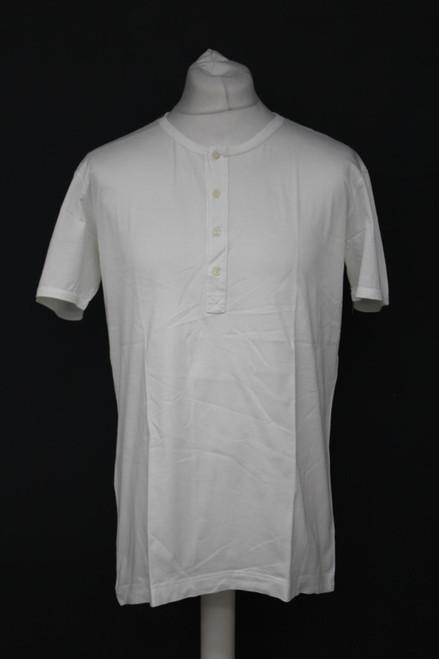 DOLCE & GABANNA Men's White Cotton Short Sleeve Crew Neck T-Shirt Top IT52/L