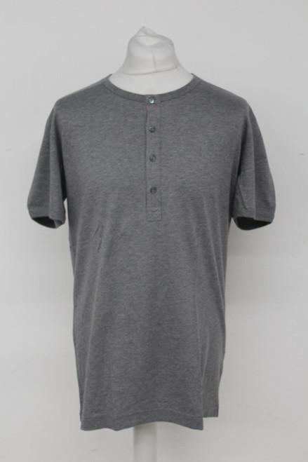 DOLCE & GABANNA Men's Grey Cotton Short Sleeve Crew Neck T-Shirt Top IT52/L
