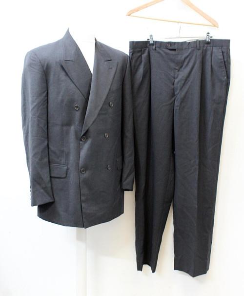 VALENTINO Men's Dark Grey Wool Suit Jacket & Trousers IT54R UK44 W38 L33