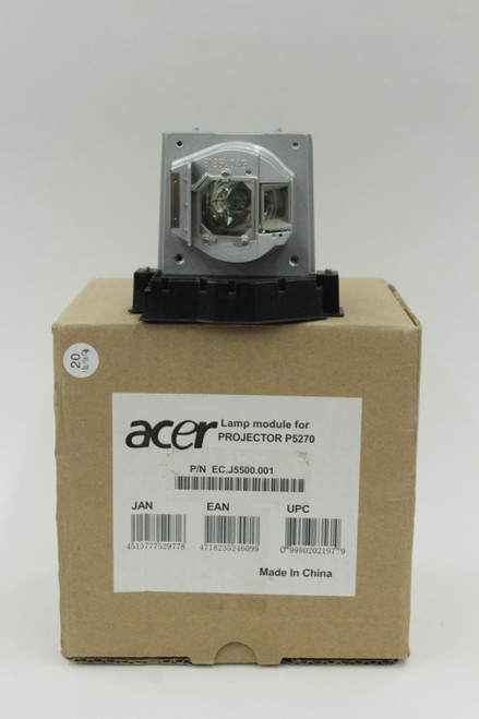 ACER OEM Replacement Lamp Module & Housing J5500.001 for P5270 Projector BNIB