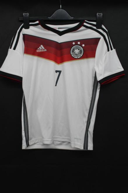 ADIDAS Germany Football Shirt Schweinsteiger Trikot DFB Kids 11-12 Years NEW