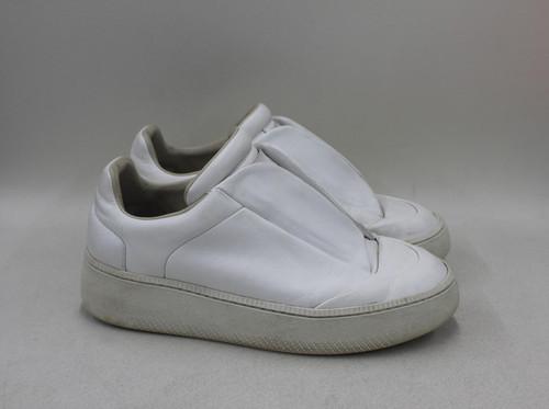 MAISON MARTIN MARGIELA Men's White Leather Low Top Platform Sneakers EU41 UK7