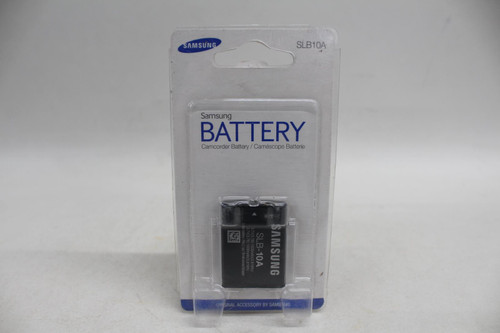 SAMSUNG 3.7v Rechargeable Battery For SLB-10A Camcorder Black Replacement NEW