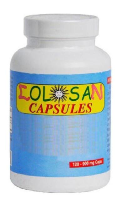 COLOSAN Capsules 120 Caps Oxygen-based Colon Cleanser Detox - Fast UK P&P