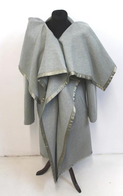 NEW MAISON MARTIN MARGIELA Ladies Pale Green Collared Zipped Jacket UK8 IT40