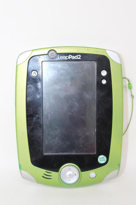 """LEAP FROG Leap Pad 2 Education Learning Children 5.5"""" Screen Green Gaming Tablet"""