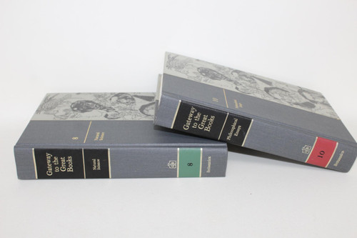 BRITANNICA Gateway To The Great Books Science & Philosophy Hardback Vol.8 & 10