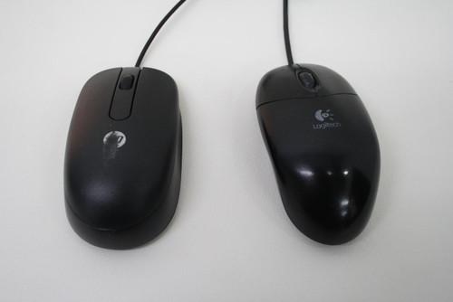 2 x 2-Button Scroll Wheel USB Optical Logitech HP Backup Replacement Mice
