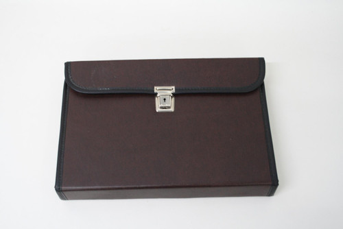 Leather Folding Tablet Case w Elastic Accessory Straps For Microsoft Surface