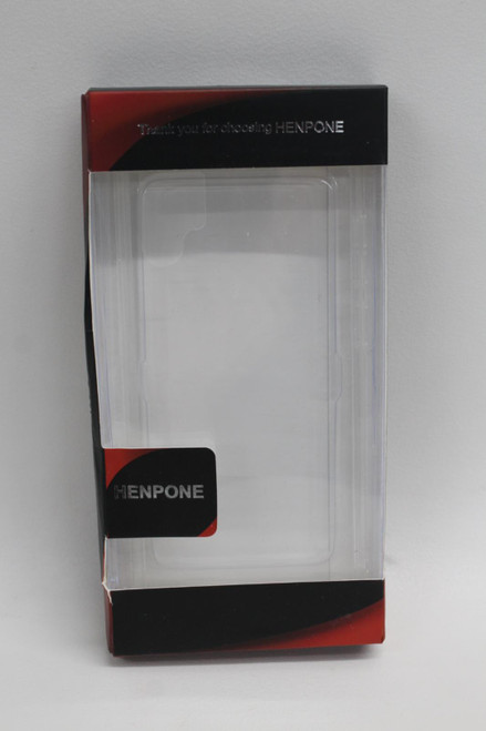 HENPHONE Clear Case For Samsung Galaxy Note 10 9H Tempered Glass Slim Fit NEW