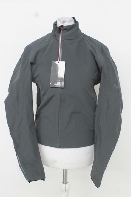 RAPHA Ladies Dark Grey Classic Winter Long Sleeve Zip Up Cycling Jacket XS BNWT
