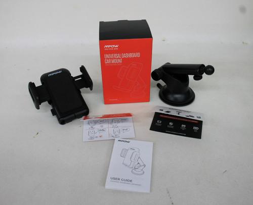 MPOW Black Universal Dashboard Car Phone Mount 360 Rotation MPCA032EB NEW