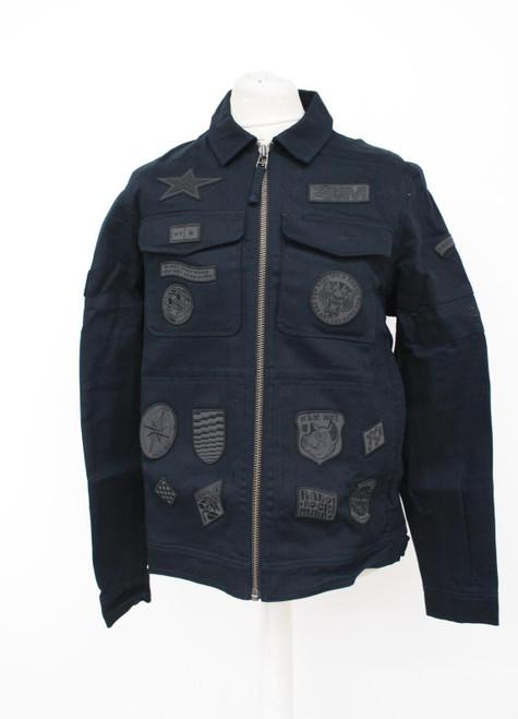 RAPHA Men's Black Outskirts Technical Reflective Patch Jacket Size L NEW