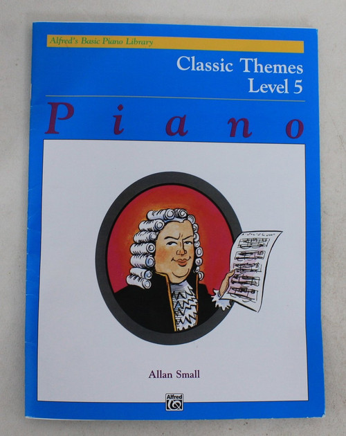 ALFRED Classic Themes Level-5 Alfreds Basic Piano Library Book By Allan Small