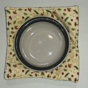 GrubDudz Small Microwave Bowl Cozy